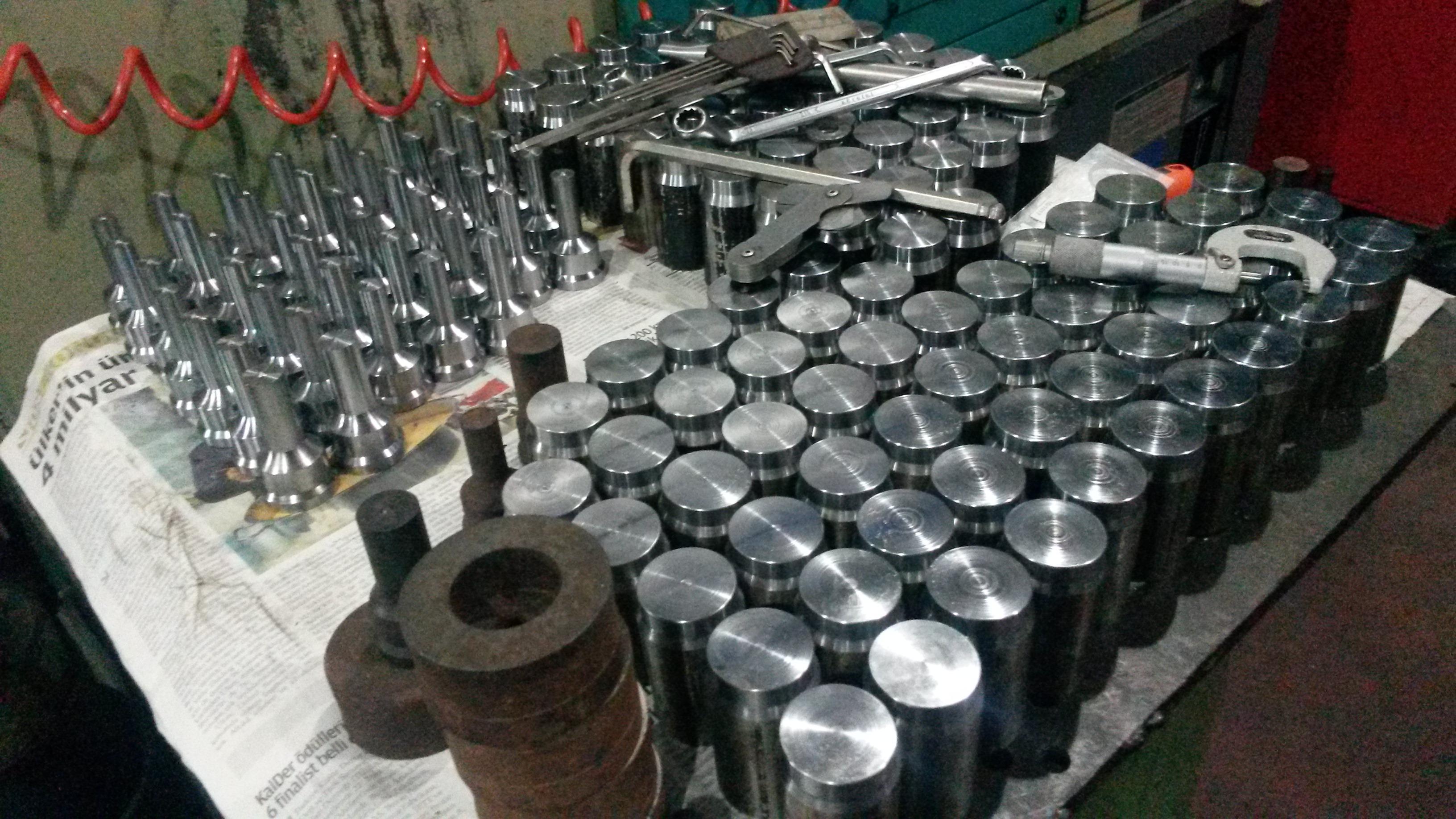 Çelik İşleme