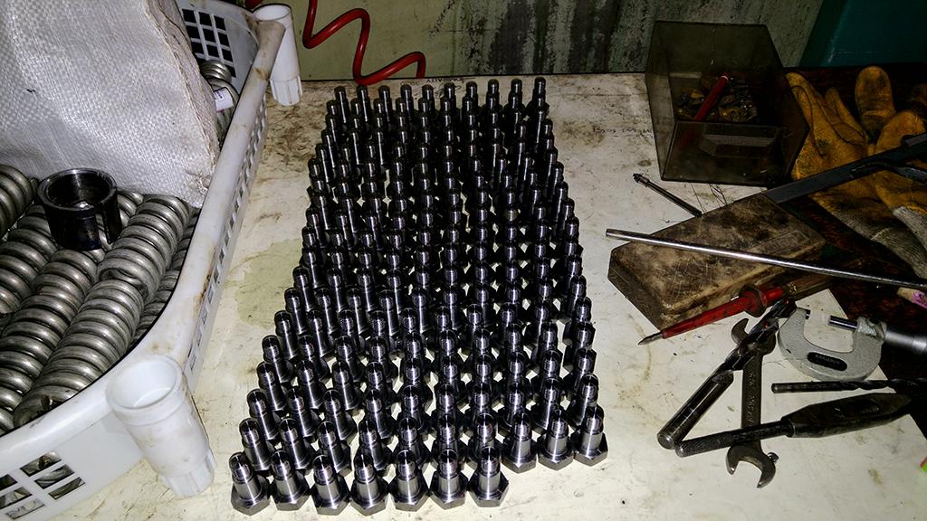 Cnc Çelik Cıvata İşleme