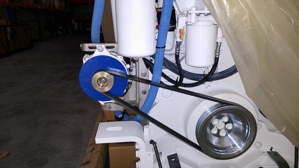 Cammi Marin,Motor Alternator,Jabsco Acuple